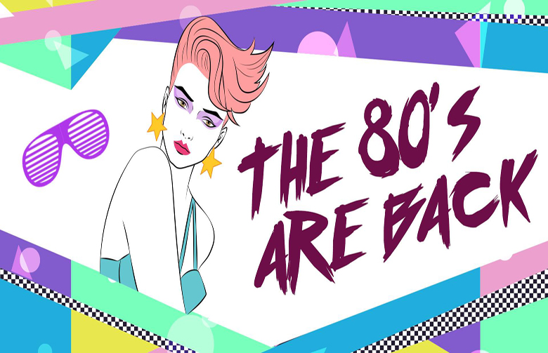 80's are back layout