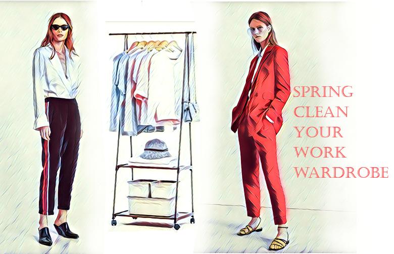 Spring clean your work wardrobe
